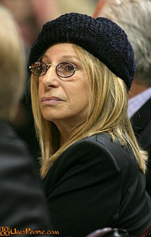 Barbra Streisand Looks Odd