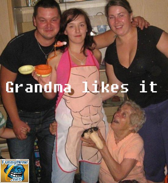 Filthy Grandma - Funny Memes