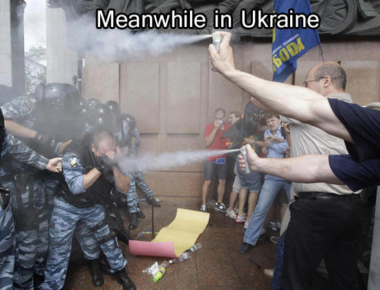 Meanwhile In Ukraine - Funny Memes