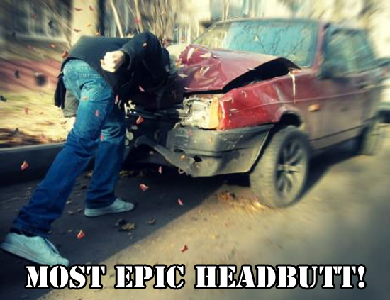 Most Epic Headbutt - Funny Memes